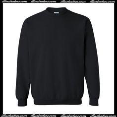 blank black sweatshirt