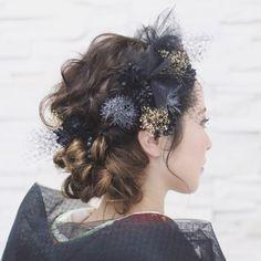 【sumi】for… Bride Makeup, Wedding Hair And Makeup, Bridal Hair, Hair Makeup, Matsuri Festival, Up Styles, Hair Styles, Hair Arrange, Hair Setting