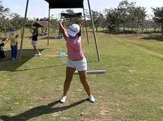 Golf Swing Slow Motion Girl - YouTube
