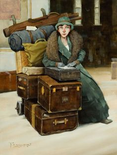 """The Beginning"" by Fred Calleri (1964, American artist)"