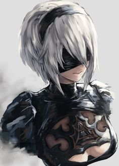 NieR: Automata YoRHa Anime quotes and memes and sexy anime artwork & drawings of manga and anime art that I find interesting and ike to draw for myself as well. Fantasy Characters, Female Characters, Anime Characters, Manga Art, Manga Anime, Game Character, Character Design, Girls Manga, Comics Anime