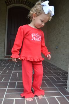 adorable for the girls christmas outfit