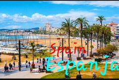 aerial view of sitges spain beach and promenade area of the popular touristic town in costa dorada. the coastal city in catalonia is famous for its film festival and carnival Finnish Language, Finnish Words, Finland, Dolores Park, Fair Grounds, Street View, Fun, Travel, Viajes