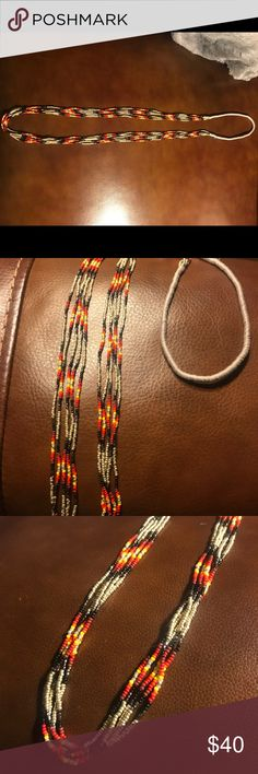 Sundance Catalog Chan Luu seed bead necklace 30 inches in length. In EUC. Chan Luu Jewelry Necklaces