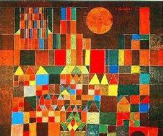 Paul Klee, Castle and Sun