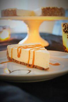 Pienet herkkusuut: Ihana Uuniomenan makuinen juustokakku kinuskikasti...