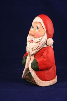Santa is Coming to Town by M.J. Stauner on Etsy