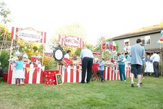 Wedding Carnival - Lemonade, Cotton Candy, Hot Dog, Ice Cream and Popcorn Stands!!
