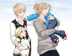 Hetalia 30 day challenge day 22. Another OTP of yours. FRUK. They are so cute together plus the FACE family is my life :)