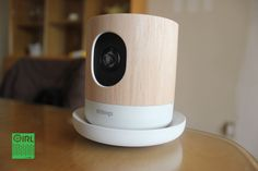 I got a Withings Home HD  surveillance camera, but used it mainly as a puppycam. | #Withings #security #puppies Gadgets And Gizmos, New Gadgets, Drop Cam, Home Surveillance, Spy Camera, Wifi, Clock, Puppies, Technology