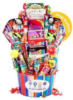 Candy Bar Gifts Baskets!