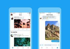 Twitter cambia de 'look' y homologa su diseño en todas las plataformas   Los apps de Twitter en iOS Android Twitter Lite la versión Web y hasta TweetDeck recibieron cambios que se están activando a partir de hoy.  Twitter anunció el miércoles un rediseño importante para todas sus aplicaciones multiplataforma y Web.  Los apps de Twitter para iOS y Android; Twiter Lite Twitter Web y TweetDeck tienen cambios en su diseño para hacer que todas las aplicaciones tengan el mismo lenguaje de diseño…