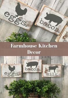 I love this adorable farmhouse style wall decor! #affiliate #homedecor #farmhouse #rustic #farmhousedecor