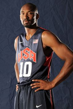 Kobe's looks make him a winner on and off the court. No doubt we'll see Team USA's biggest star flashing his confident grin atop the podium in London