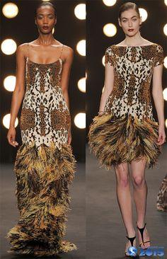платья с бахромой 2014-2015