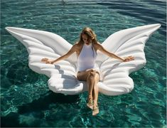 Buy Angel Wings Pool Float from Top rated seller with many positive reviews -Shipping worldwide- You may also like the similar items on the link. Go to store and check it out !
