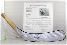 nice SIDNEY CROSBY AUTOGRAPHED SIGNED HOCKEY STICK BLADE NHL PENGUINS JSA COA LOA - For Sale View more at http://shipperscentral.com/wp/product/sidney-crosby-autographed-signed-hockey-stick-blade-nhl-penguins-jsa-coa-loa-for-sale/