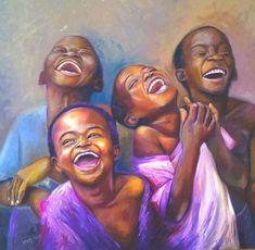 Art Black Love, Black Girl Art, Art Girl, Black Art Painting, Black Artwork, Art Des Gens, Images D'art, African American Artwork, Afrique Art