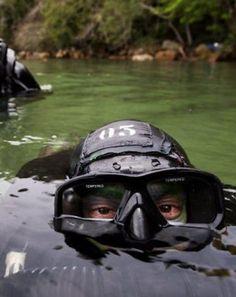 GRUMEC – as Forças Especiais da Marinha do Brasil.