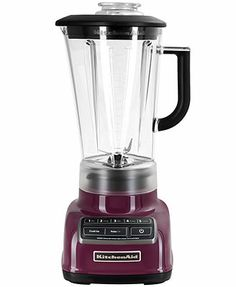 Skip the hassle of prep work & leave it up to this professional blender. With 5 speeds, Intelli-Speed Technology that senses density changes & maintains premium power & a stainless steel blade for wet