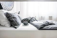 www.lillasky.com. Lilla Sky black white check bedding.
