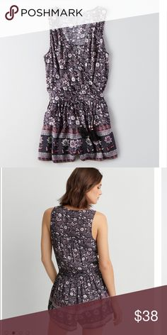New American Eagle Sleeveless Wrap Romper - XSmall Brand new American Eagle Outfitters Other