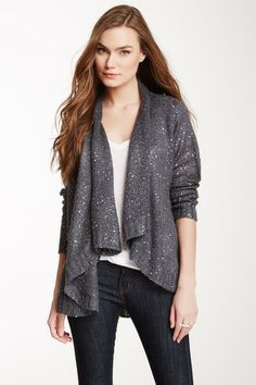 Sisters Scattered Sequin Cardigan by Non Specific on @HauteLook