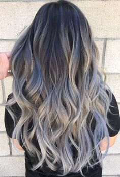 Are you looking for the most flattering silver/ grey hair color ideas and styles? Brown Ombre Hair, Silver Grey Hair, Ombre Hair Color, Pixie Haircut For Thick Hair, Prom Hairstyles For Short Hair, Love Hair, Gorgeous Hair, Hair Inspo, Hair Inspiration