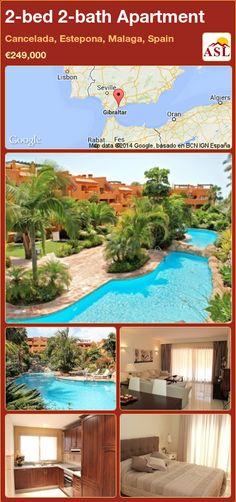 2-bed 2-bath Apartment in Cancelada, Estepona, Malaga, Spain ►€249,000 #PropertyForSaleInSpain