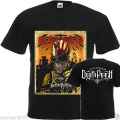 NEW-DTG-Tee-t-shirs-Five-Finger-Death-Punch-War-Is-the-Answer-SIZE-S-5XL