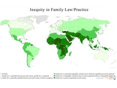 The worst places in the world to be a woman: discrepancies in law/family practice