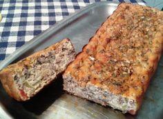 Torta de Carne com Fibra de Soja