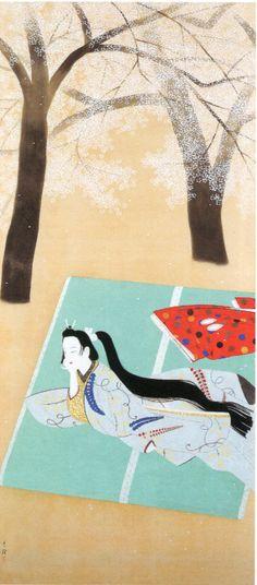 1919 by Kokei Kobayashi (1883~1957)