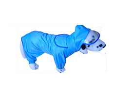 Ihomesport Pet Dog Raincoat Apparel Rain Jacket Waterproof Jumpsuit Blue Large 19'L -- See this great image  (This is an amazon affiliate link. I may earn commission from it)