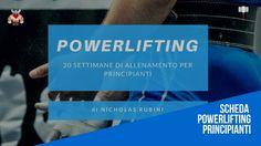 Scheda Powerlifting Principianti | Scarica Gratis e diventa Forte 📊