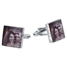 Personalized Photo Fadeproof Pewter Cufflinks