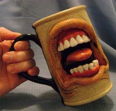 unique coffee Mug | 20 fun, scary and unique coffee mugs