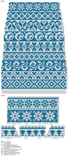 24 New Ideas knitting mittens fair isle inspiration Fair Isle Knitting Patterns, Fair Isle Pattern, Knitting Charts, Loom Knitting, Knitting Socks, Knitting Stitches, Knit Patterns, Free Knitting, Vintage Knitting