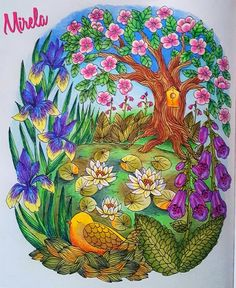 #blomstermandala #blomstermandalamålarbok #twilightgardencoloringbook #twilightgarden #mariatrolle #maria_trolle #arte_e_colorir #divasdasartes #wonderfulcoloring #terapiacompinturas #bayan_boyan #ColoringMasterpiece #coloring_secret #colorplaner #coloring_repost #coloring_love  #coloringbookforadults #poly #polychromosfabercastell #fabercastell #art #love #flower #spring