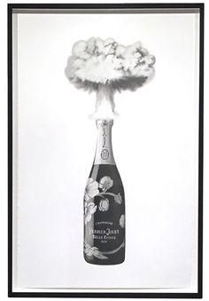 Celebrating Destruction - Perrier Jouet Fig Drawing, Create Drawing, Making Charcoal, Perrier Jouet, Destruction, Artsy, Ink, Sculpture, Contemporary