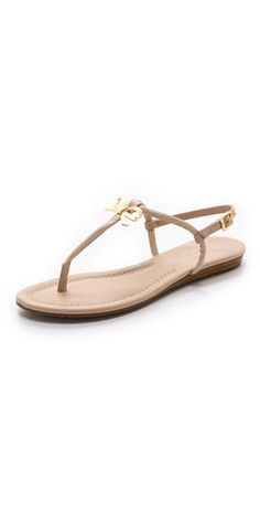 Kate Spade New York Tracie Bow Thong Sandals | SHOPBOP