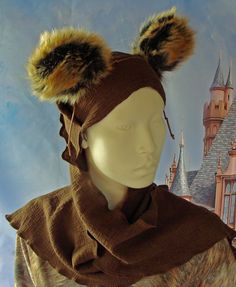 d265f417a16 Items similar to Star Wars Inspired Ewok Costume Head Scarf on Etsy