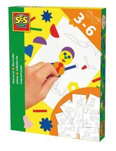 SES 01052 - Klebeblock Figuren: Amazon.de: Spielzeug