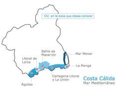 La Costa Cálida. Región de Murcia