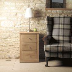 mobel oak three drawer lamp table oak furniture home decor interior
