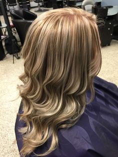 A beautiful ashy blonde and chocolate brown highlight and lowlight! Gorgeous! Hair by Mandy Young. https://www.facebook.com/MandyYoungHairstylist