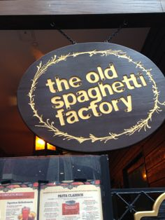 speed dating old spaghetti factory Fresh food refreshing prices welcome to the old spaghetti factory we are located at 10220-103rd street, which in 1879 was part of the hudson's bay company's.