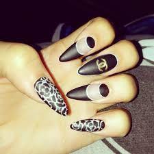 Stiletto nails tumblr # Gucci theme#sexy