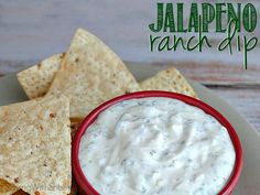 Creamy Jalapeno Ranch Dip is THE BEST Ranch Dip I have ever tried. It's quick, easy and the dish ALWAYS comes home empty.