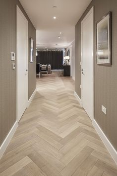 14 Wooden Tile Floor Design Wooden Tile Floor Design - Wood tile herringbone pattern Find and save ideas about kitchen tile designs Faro Grey wood look tiles effect wooden til. Wooden Floor Tiles, Herringbone Tile Floors, Wood Floor Design, Wood Tile Floors, Timber Flooring, Parquet Flooring, Plywood Floors, Painted Floors, Kitchen Laminate Flooring
